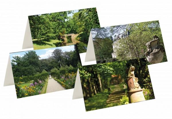 Briefkarten: Sommer im Schlosspark