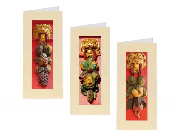 Briefkarten: Löwenmaul