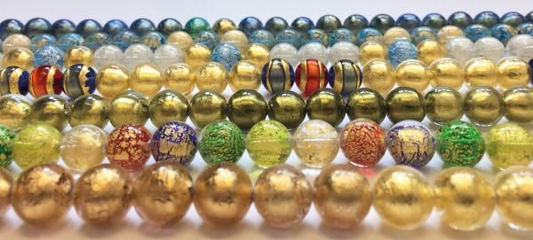 Murano-Collier Farben des Glücks