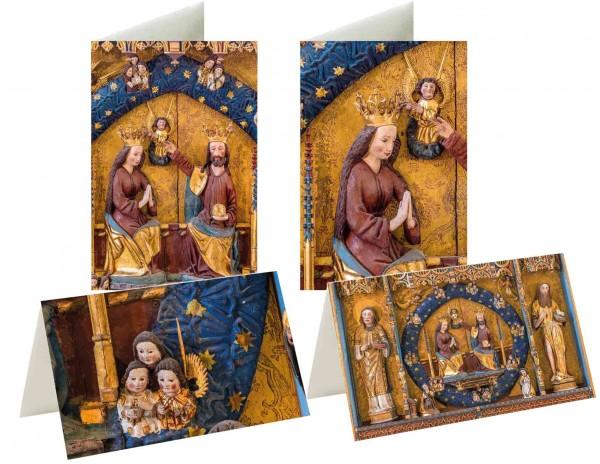 Briefkarten: Goldaltar Osterwieck