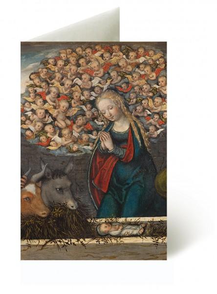 Briefkarten: Weihnachten bei den Cranachs