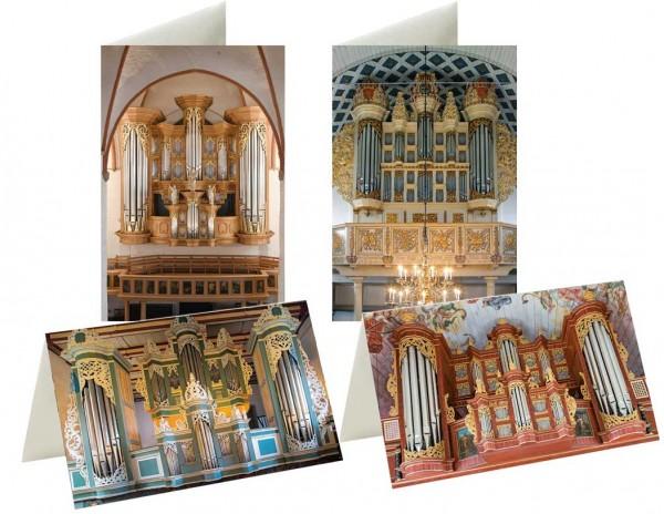Briefkarten: Arp Schnitger - Orgelkunst