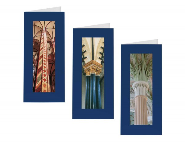 Briefkarten: Säulen des Himmels