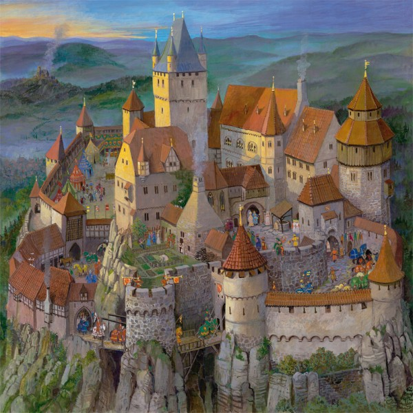 Puzzle Die Ritterburg - klein