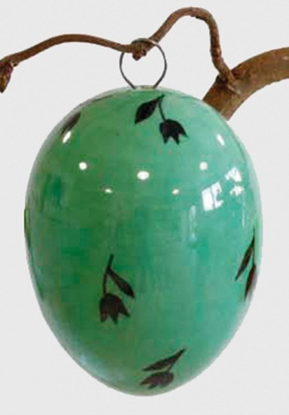 Keramik-Ei Bollhagen Dekor L