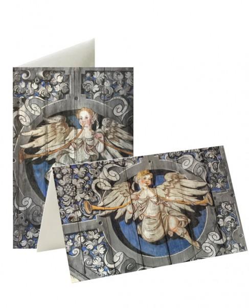 Briefkarten: Wo Engel rühmen