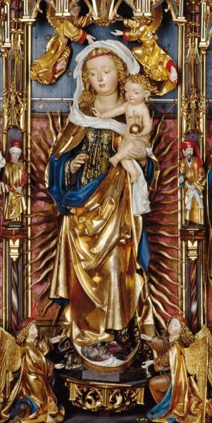 Premiumkarten: Madonna im Strahlenkranz