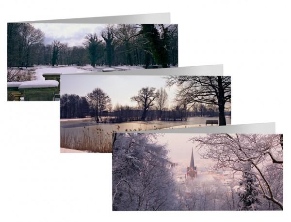 Briefkarten: Winterausblick