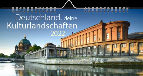 Panorama-Kalender - Deutschland, deine Kulturlandschaften. 2022