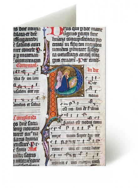 Briefkarten: Kölner Weihnachtsinitialen