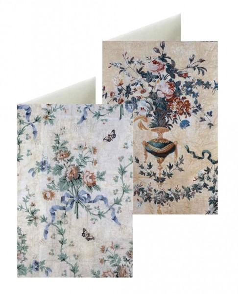 Briefkarten: Blumenbouquets