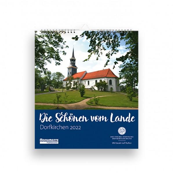 Dorfkirchen-Kalender. Die Schönen vom Lande. 2022