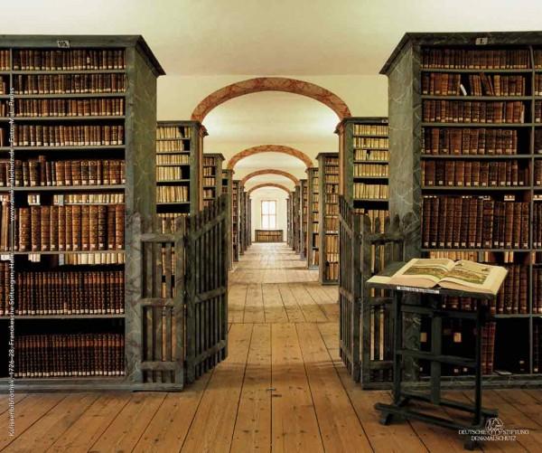 Mousepad Bibliothek