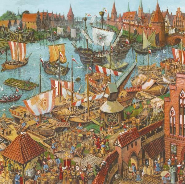Puzzle Der alte Hansehafen - klein