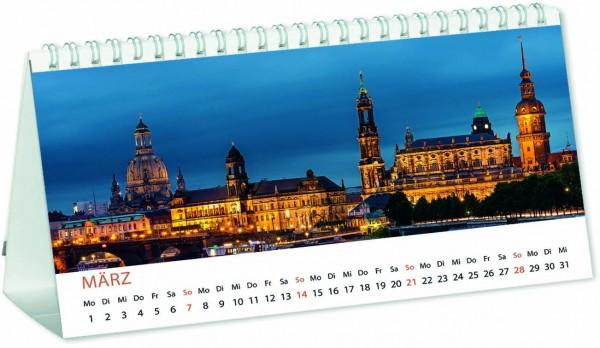 Mini-Panorama-Kalender - Deutschland, deine Wahrzeichen. 2021