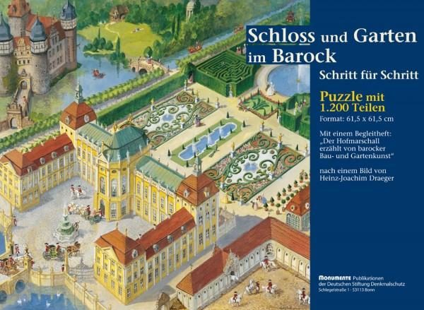 Puzzle Schloss und Garten im Barock