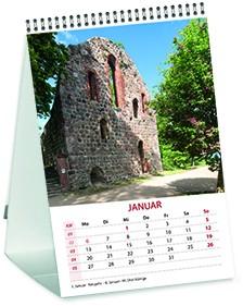 Mini Denkmal-Kalender 2020