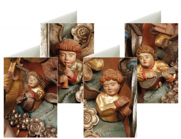 Briefkarten: Musikengel aus Neukloster
