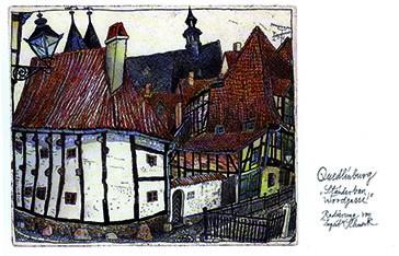 Geschenkkästchen: Quedlinburg