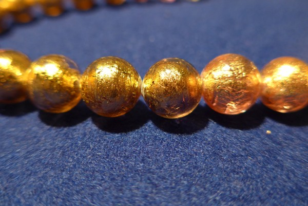 Murano-Armband Goldtöne
