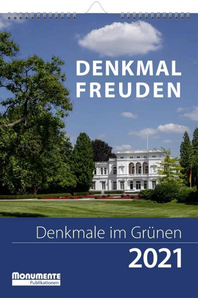 Kalender Denkmal-Freuden. Denkmale im Grünen 2021