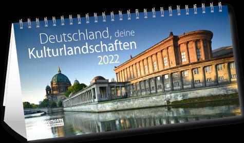 Mini-Panorama-Kalender - Deutschland, deine Kulturlandschaften. 2022