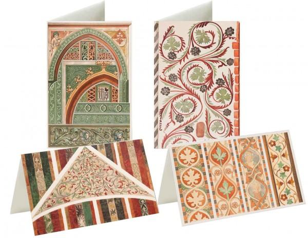 Briefkarten: Augenweide