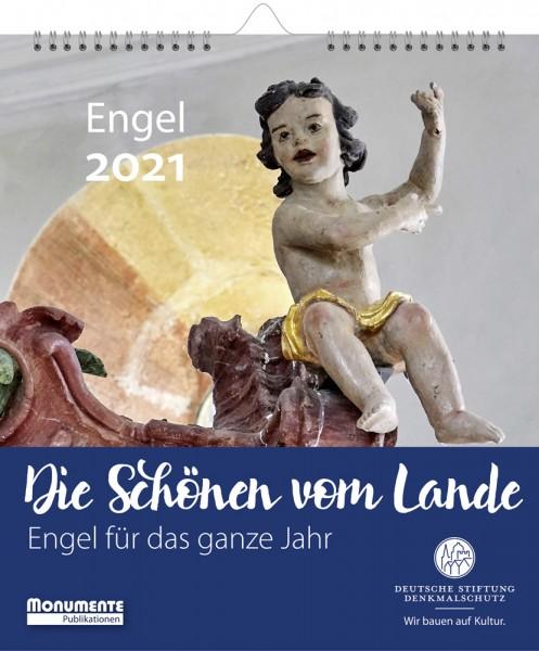 Dorfkirchen-Kalender. Die Schönen vom Lande. Engel für das ganze Jahr. 2021