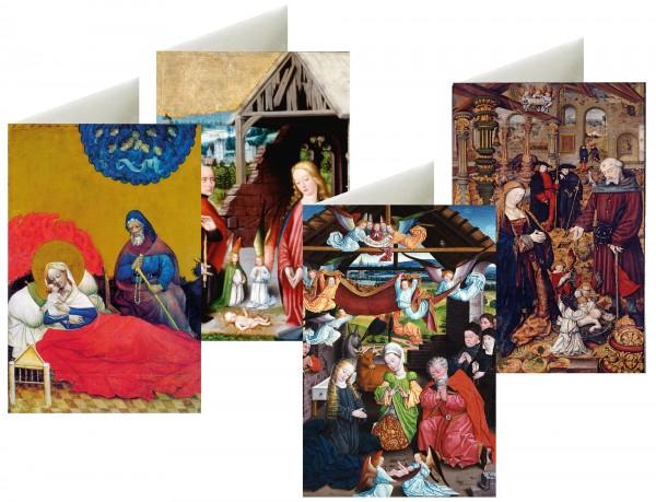 Briefkarten: Westfälische Weihnacht