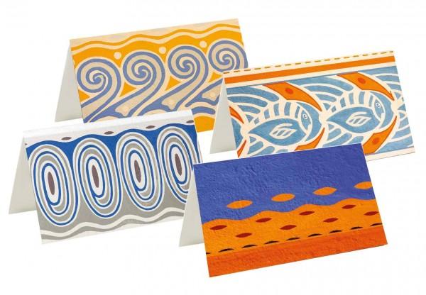 Briefkarten: Wasserwelten