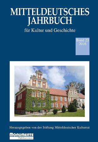 Mitteldeutsches Jahrbuch Band 23