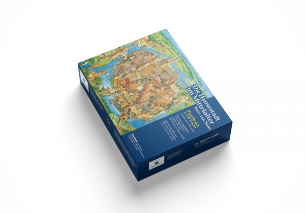 Puzzle Die Hansestadt im Mittelalter