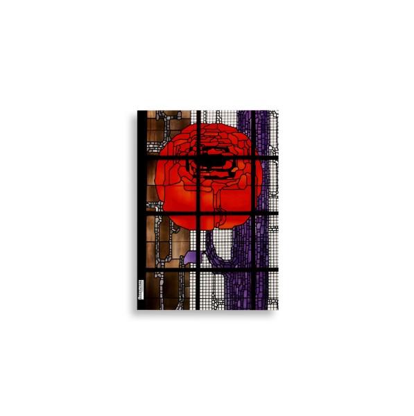 Notizbuch Denk-mal-an Rosen-Fenster