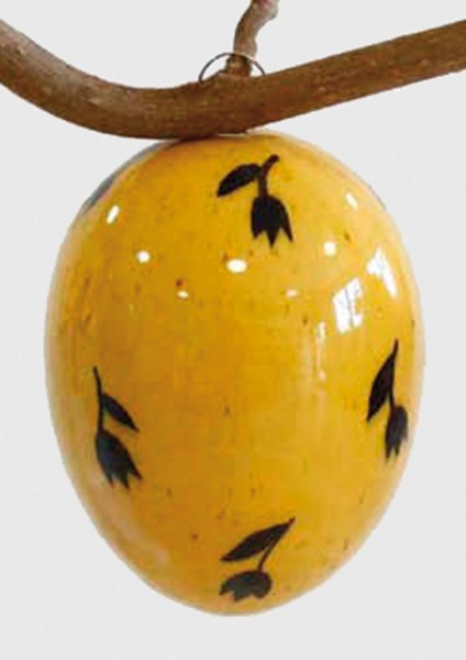 Keramik-Ei Bollhagen Dekor M