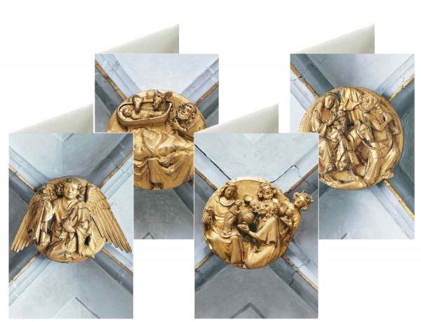 Briefkarten: Schluss-Steine Salem