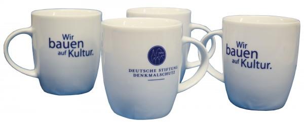Logo-Tasse DSD - 4 Stück im Set