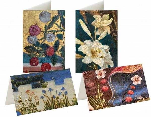 Briefkarten: Marias Gartengeheimnisse