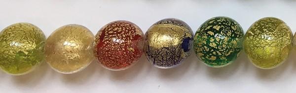 Murano-Armband Farben des Glücks