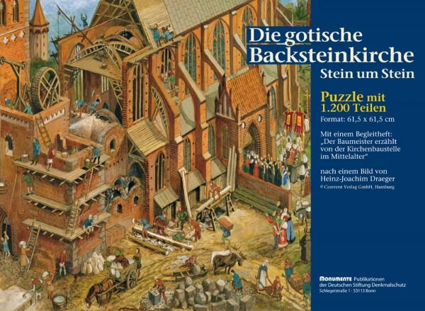 Puzzle Die gotische Backsteinkirche