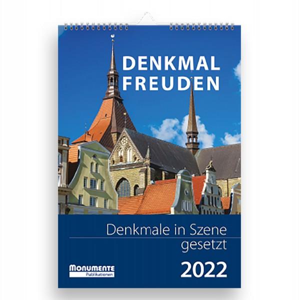 Kalender Denkmal-Freuden. Denkmale in Szene gesetzt. 2022
