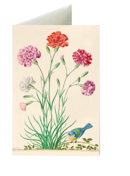 Briefkarten: Gräfliche Blumenfreude