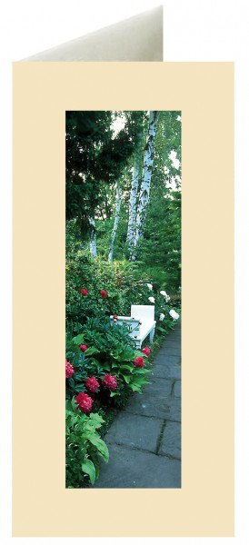 Premiumkarten: Mußestunde im Foerster-Garten