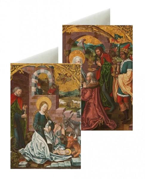 Briefkarten: Bierstädter Altar